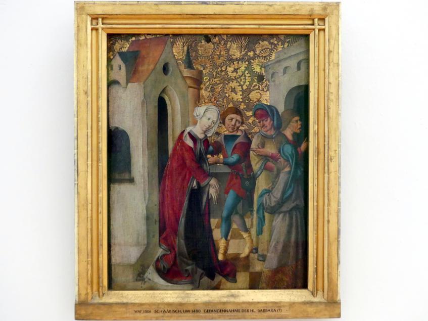 Teil eines Altarflügels, um 1480