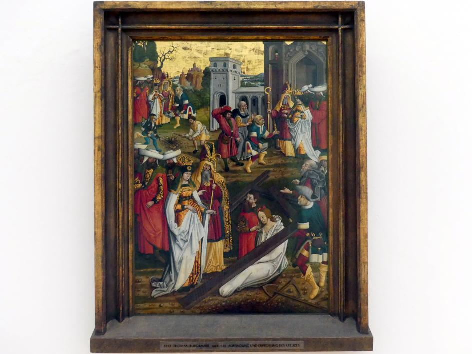Thoman Burgkmair: Auffindung und Erprobung des wahren Kreuzes, vor 1510