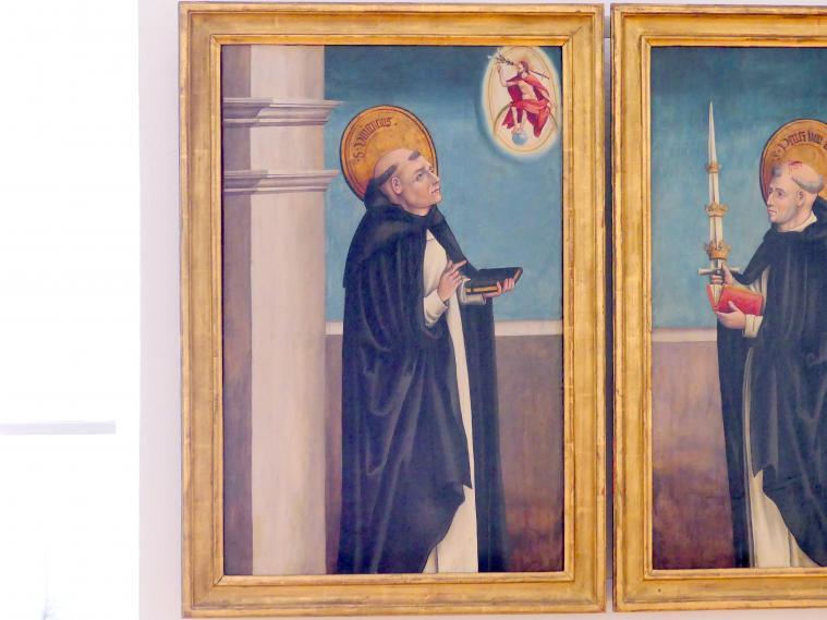 Thoman Burgkmair: Der hl. Vinzenz Ferrer, um 1515 - 1520