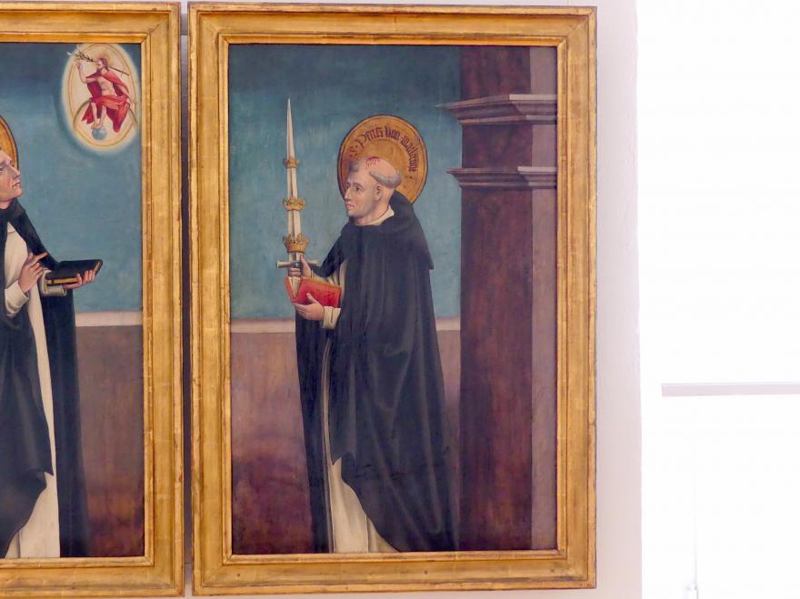 Thoman Burgkmair: Der hl. Petrus von Mailand, um 1515 - 1520