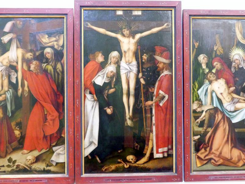 Hans Holbein der Ältere: Kreuzigung Christi, um 1500