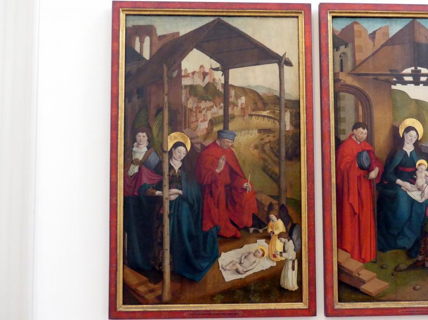 Meister der Landsberger Geburt Christi: Geburt Christi, um 1460 - 1470