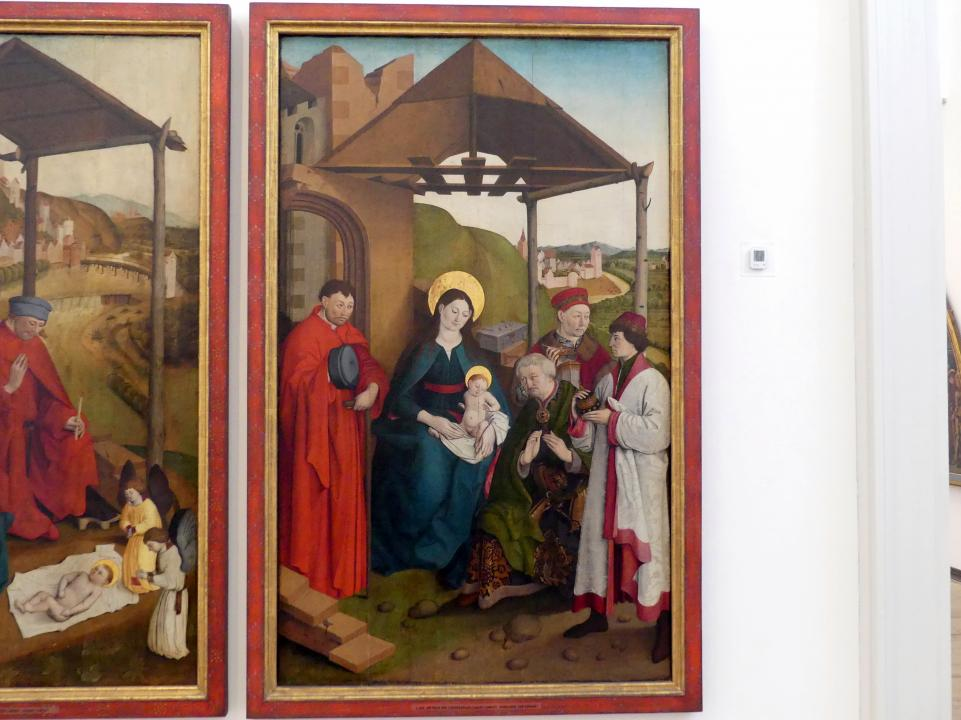 Meister der Landsberger Geburt Christi: Anbetung der Könige, Um 1460 - 1470