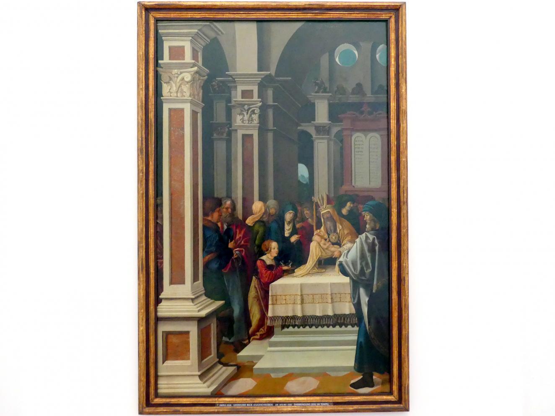 Leonhard Beck: Darstellung Jesu im Tempel, Um 1515 - 1518