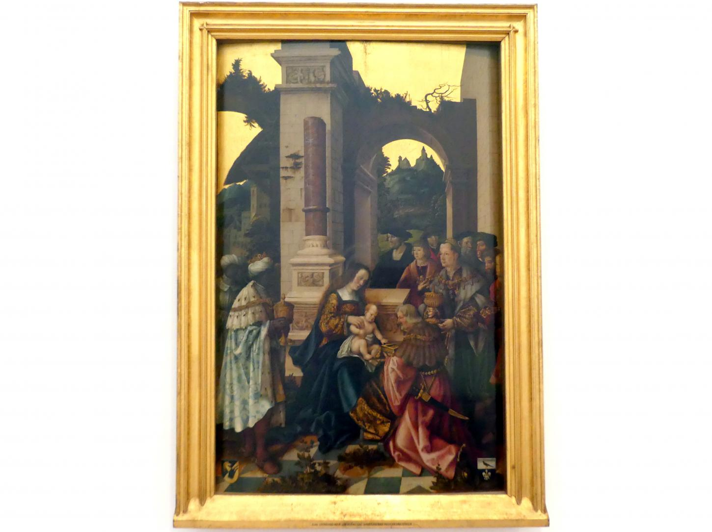 Leonhard Beck: Anbetung der Heiligen Drei Könige, um 1520