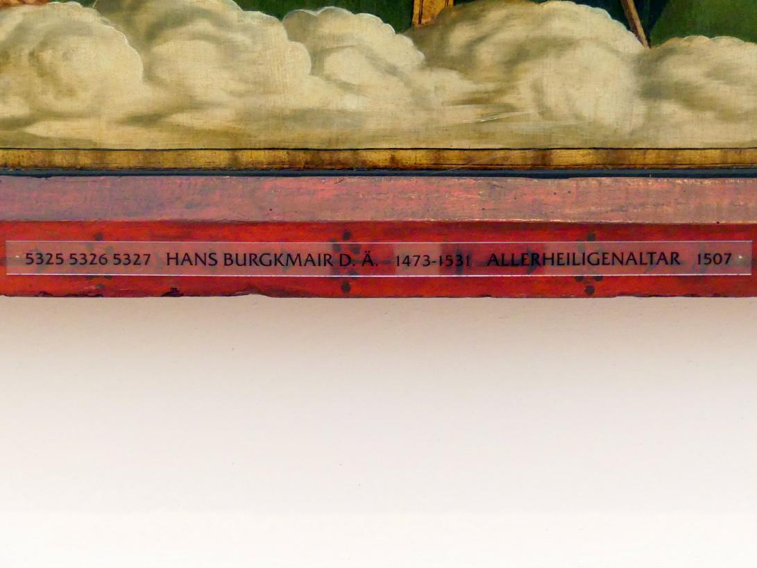 Hans Burgkmair der Ältere: Allerheiligenaltar, 1507, Bild 2/3