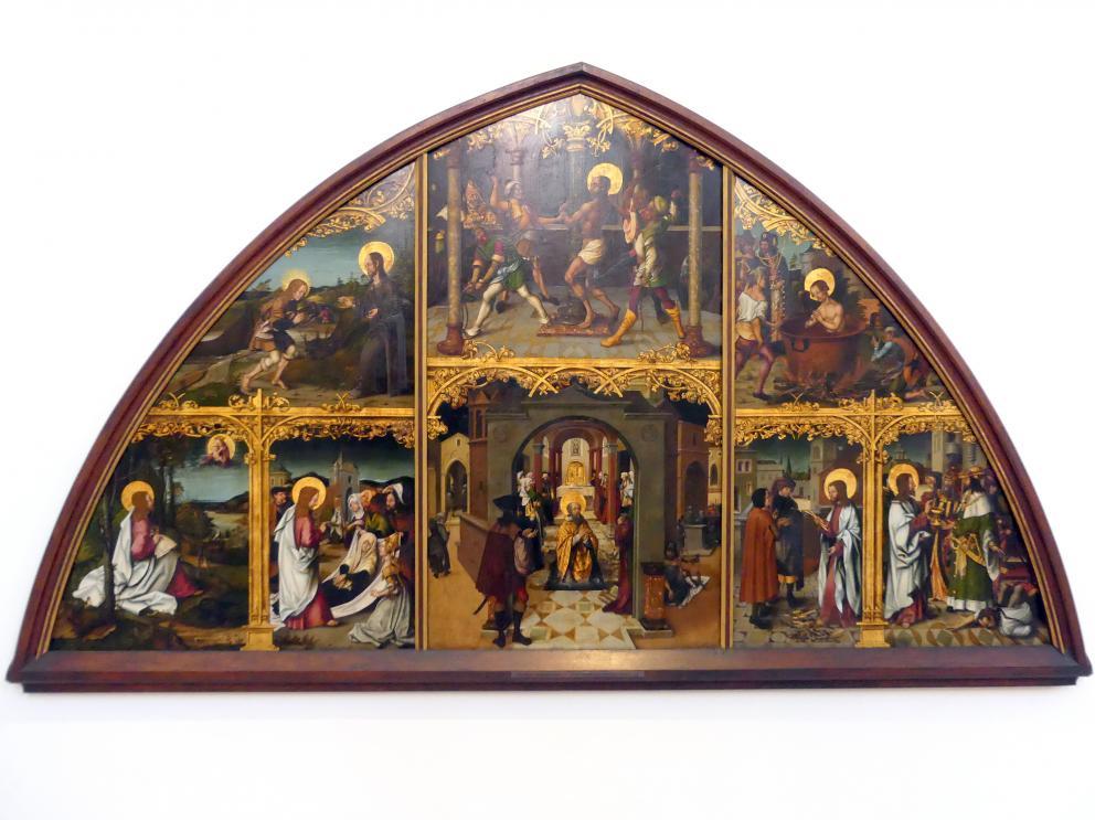 Hans Burgkmair der Ältere: Basilika San Giovanni in Laterano, 1502