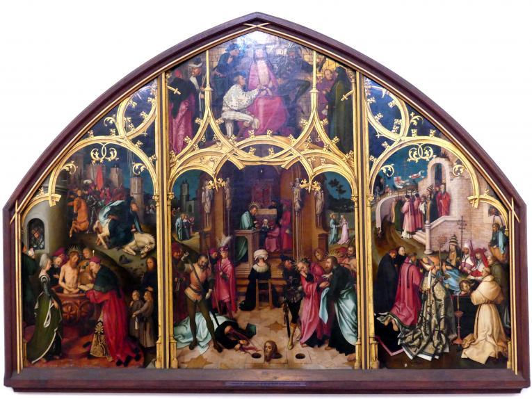 Hans Holbein der Ältere: Basilika San Paolo fuori le mura, um 1504