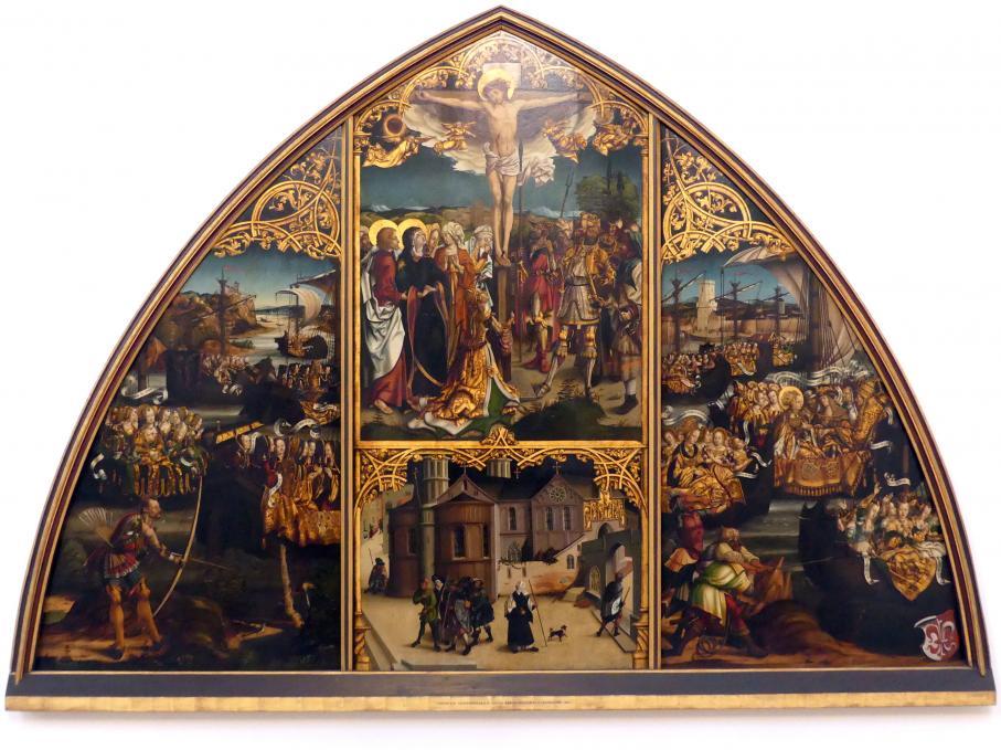 Hans Burgkmair der Ältere: Basilika Santa Croce in Gerusalemme, 1504