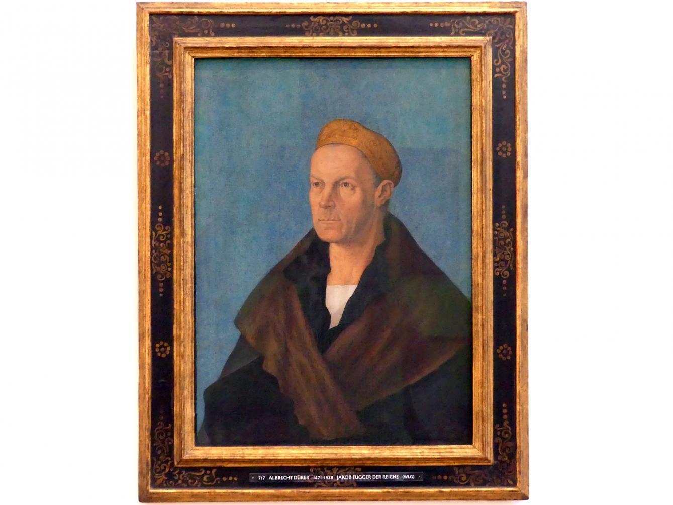 Albrecht Dürer: Jakob Fugger der Reiche, um 1520