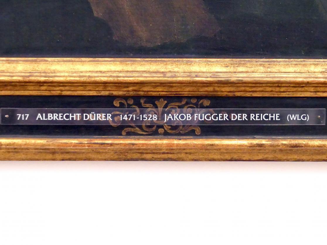 Albrecht Dürer: Jakob Fugger der Reiche, um 1520, Bild 2/3