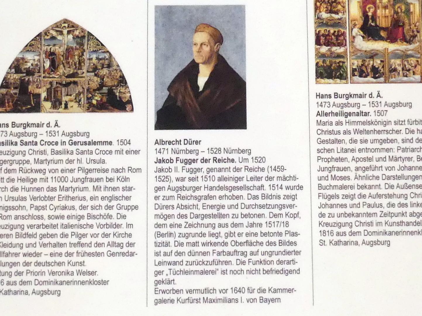 Albrecht Dürer: Jakob Fugger der Reiche, um 1520, Bild 3/3
