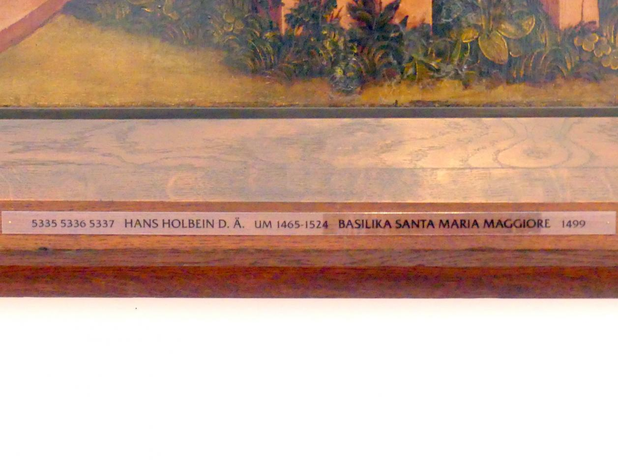 Hans Holbein der Ältere: Basilika Santa Maria Maggiore, 1499