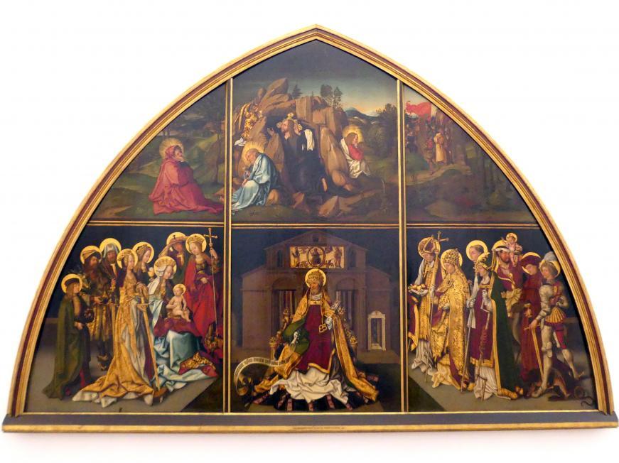 Hans Burgkmair der Ältere: Basilika San Pietro, 1501