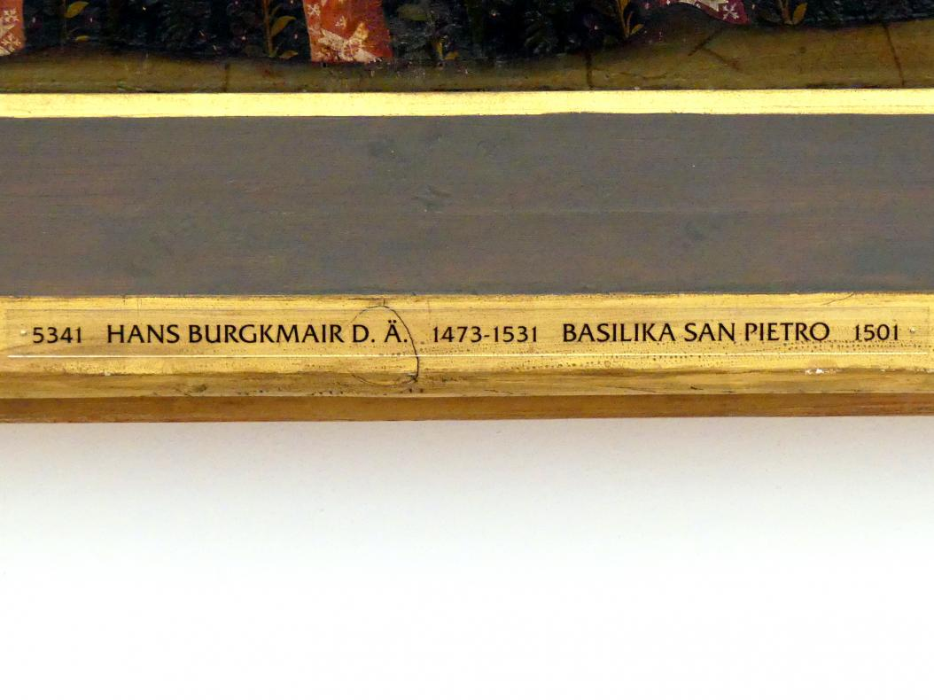 Hans Burgkmair der Ältere: Basilika San Pietro, 1501, Bild 2/3