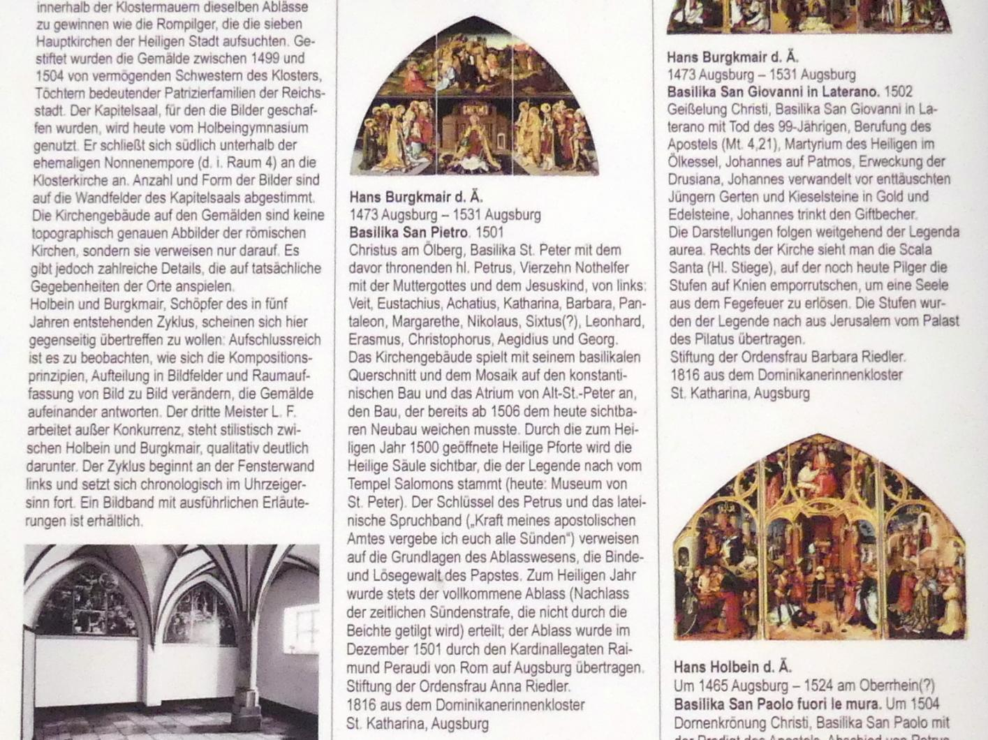 Hans Burgkmair der Ältere: Basilika San Pietro, 1501, Bild 3/3
