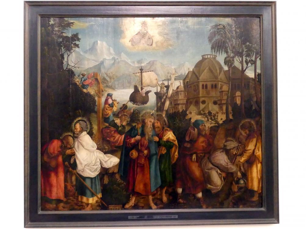 Jörg Breu der Ältere: Apostelabschied, 1514