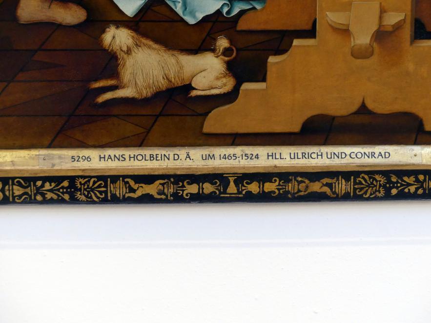 Hans Holbein der Ältere: Hll. Ulrich und Conrad, 1512