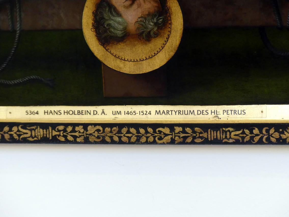 Hans Holbein der Ältere: Martyrium des hl. Petrus, 1512, Bild 2/3