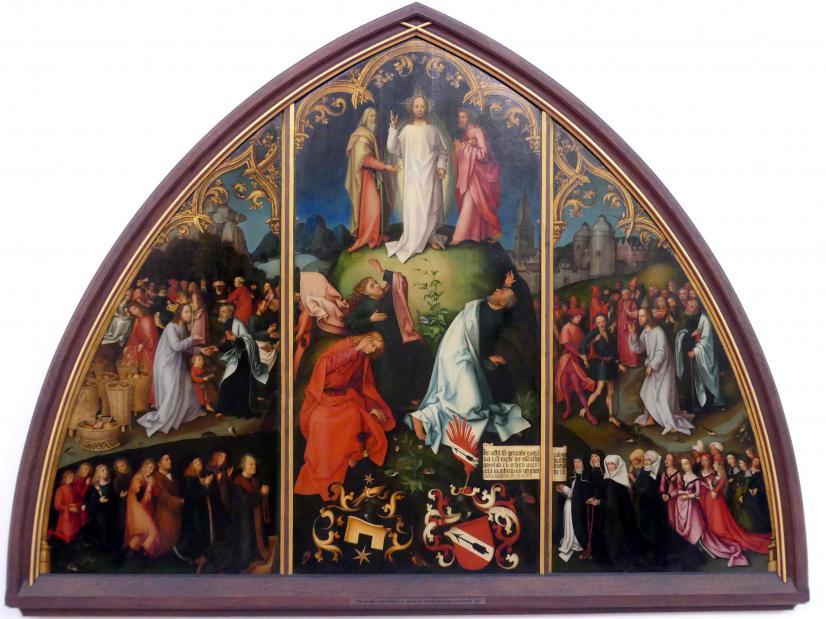 Hans Holbein der Ältere: Epitaph der Schwestern Walther, 1502