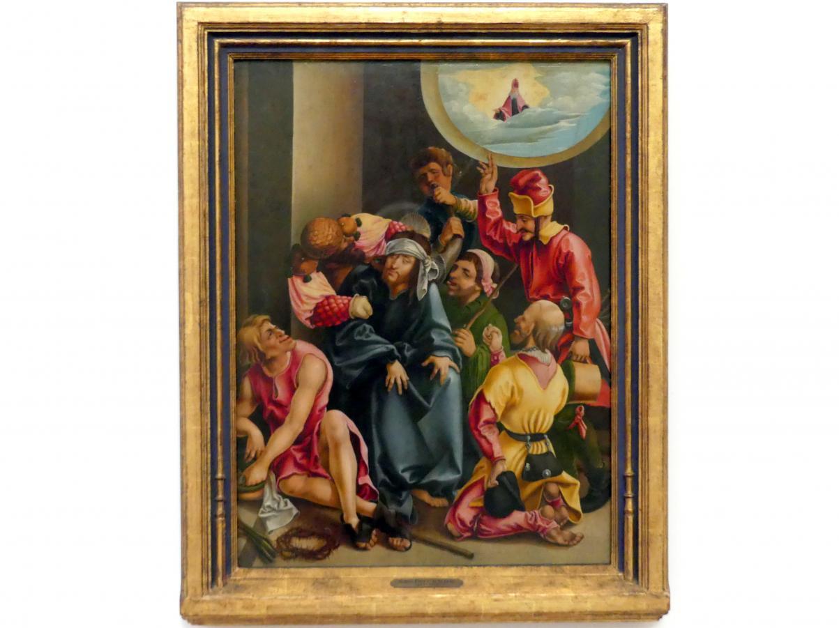 Jörg Breu der Ältere: Verspottung Christi, um 1522