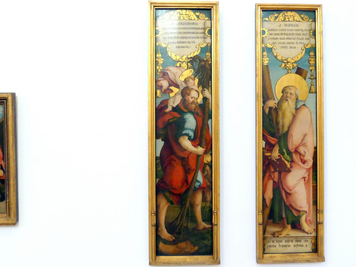 Meister von Meßkirch: Hl. Christophorus, Um 1535 - 1538