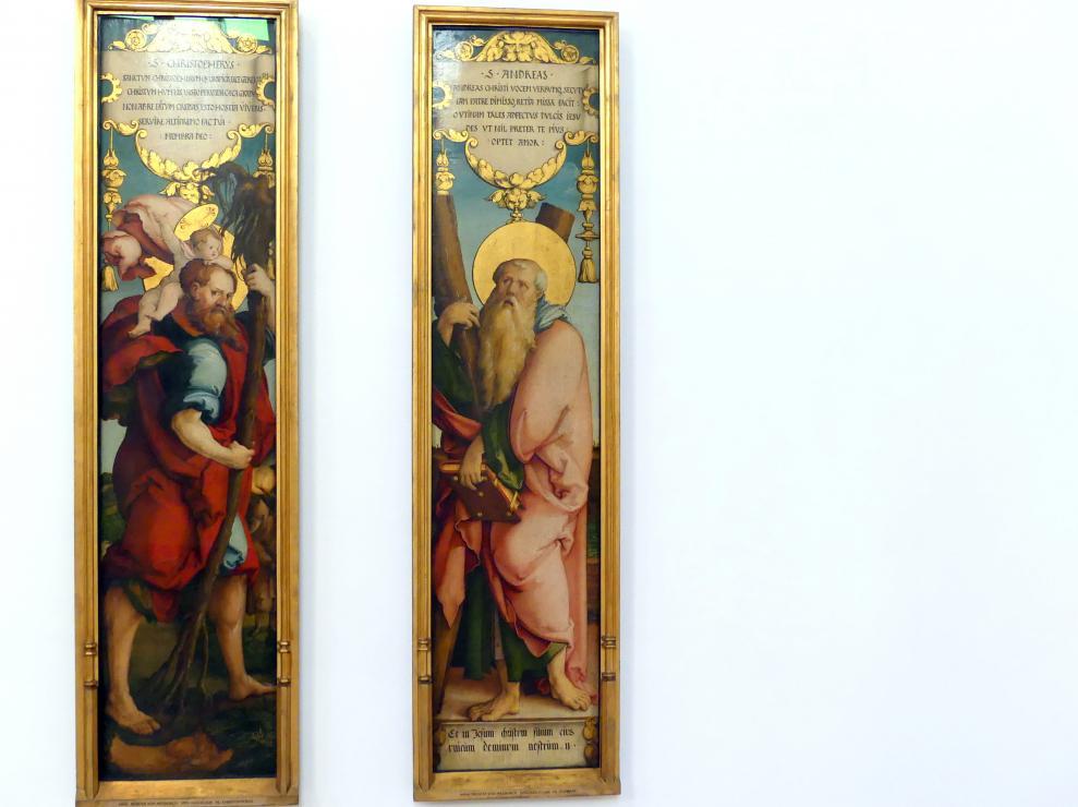 Meister von Meßkirch: Hl. Andreas, um 1535 - 1538