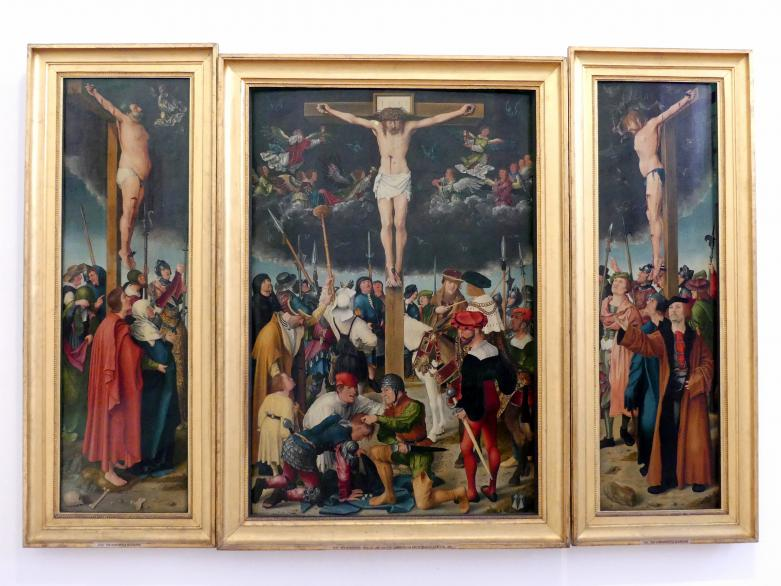 APT-Werkstatt: Kreuzigung Christi (Rehlingeraltar), 1517, Bild 1/8