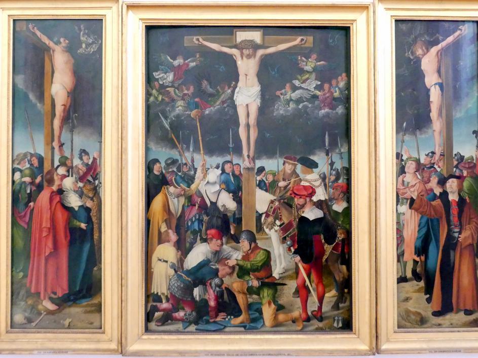 APT-Werkstatt: Kreuzigung Christi (Rehlingeraltar), 1517, Bild 2/8