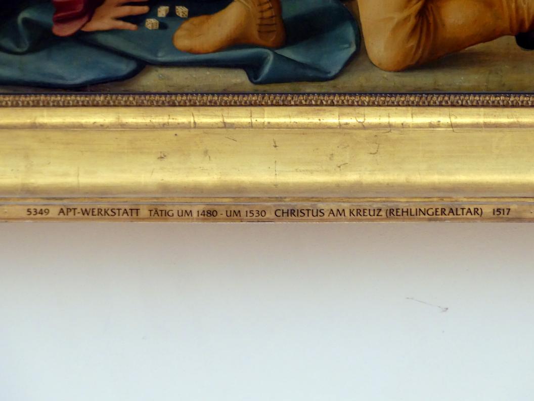 APT-Werkstatt: Kreuzigung Christi (Rehlingeraltar), 1517, Bild 6/8