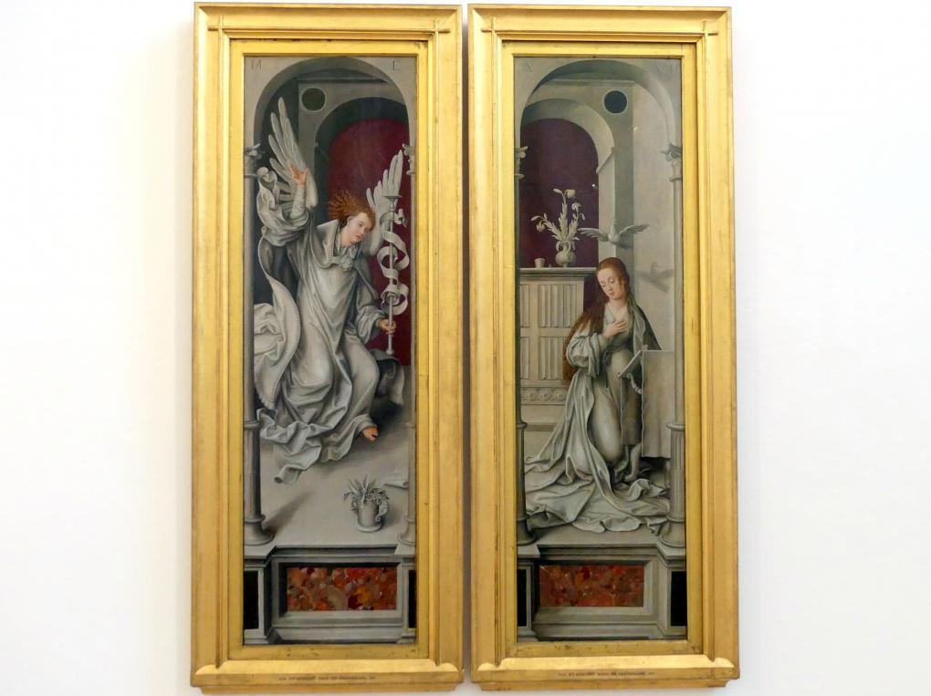 APT-Werkstatt: Verkündigung (Rehlingeraltar), 1517