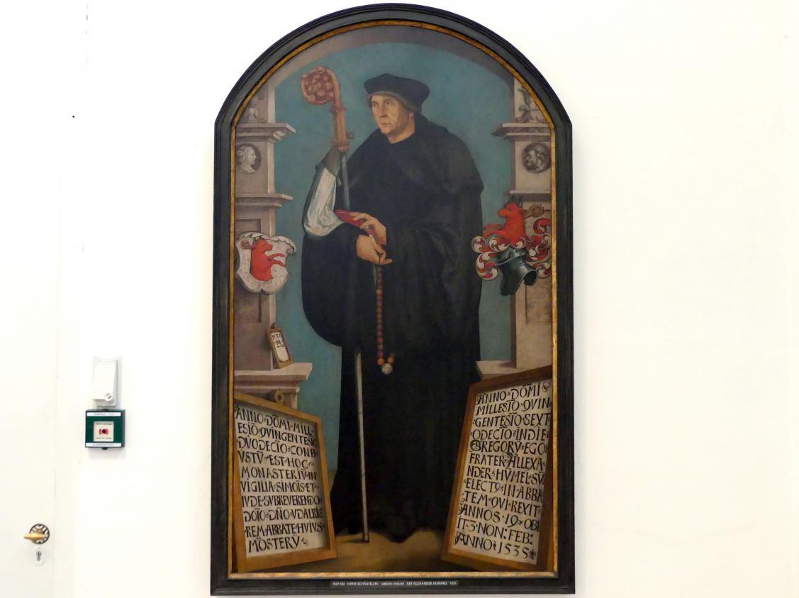 Hans Schäufelein: Abt Alexander Hummel, 1531