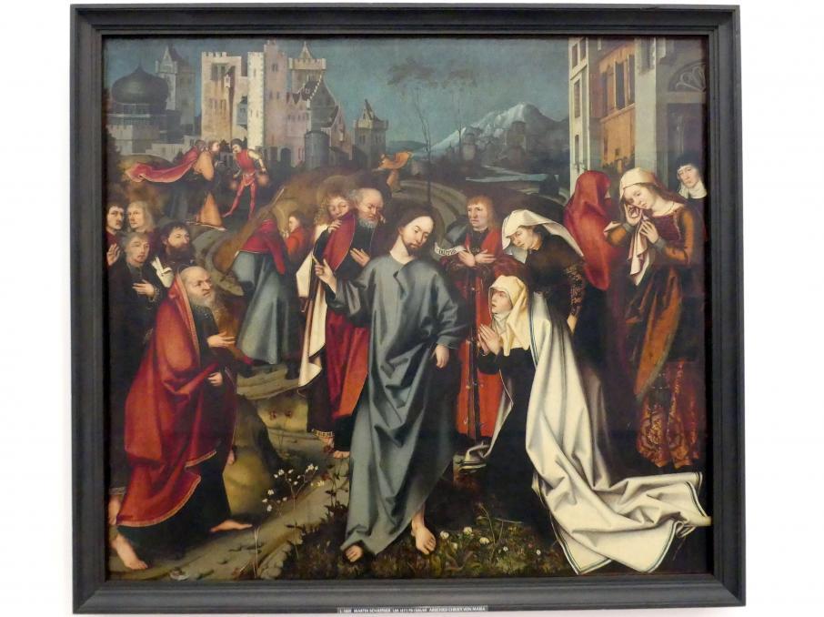 Martin Schaffner: Abschied Christi von seiner Mutter, um 1507