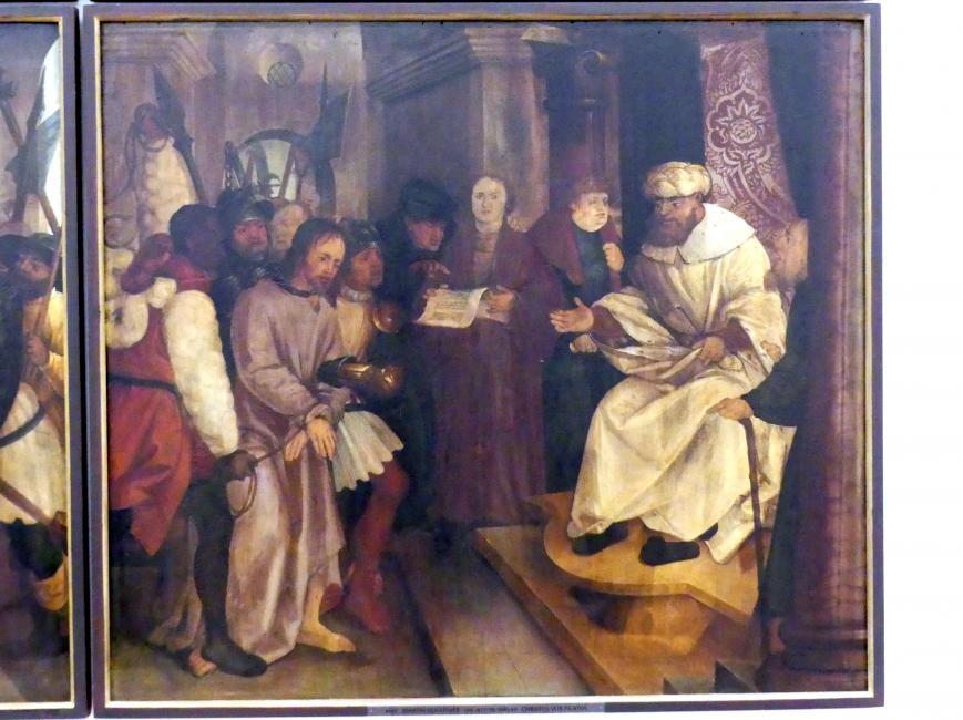 Martin Schaffner: Tafeln einer Passionsfolge, 1515, Bild 1/3