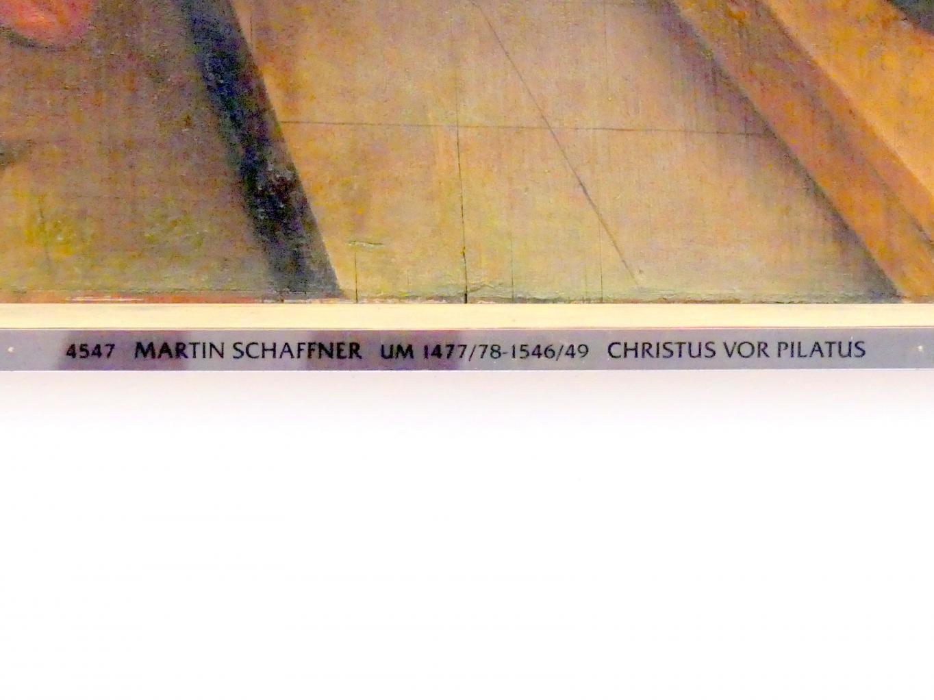 Martin Schaffner: Tafeln einer Passionsfolge, 1515, Bild 2/3