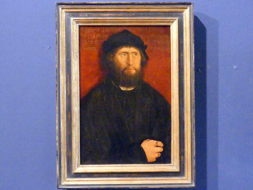 Bernhard Strigel: Bildnis des Johann I., Graf von Montfort-Rothenfels, 1520