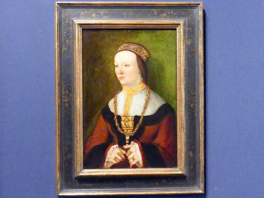 Bernhard Strigel: Bildnis einer jungen Frau, um 1525