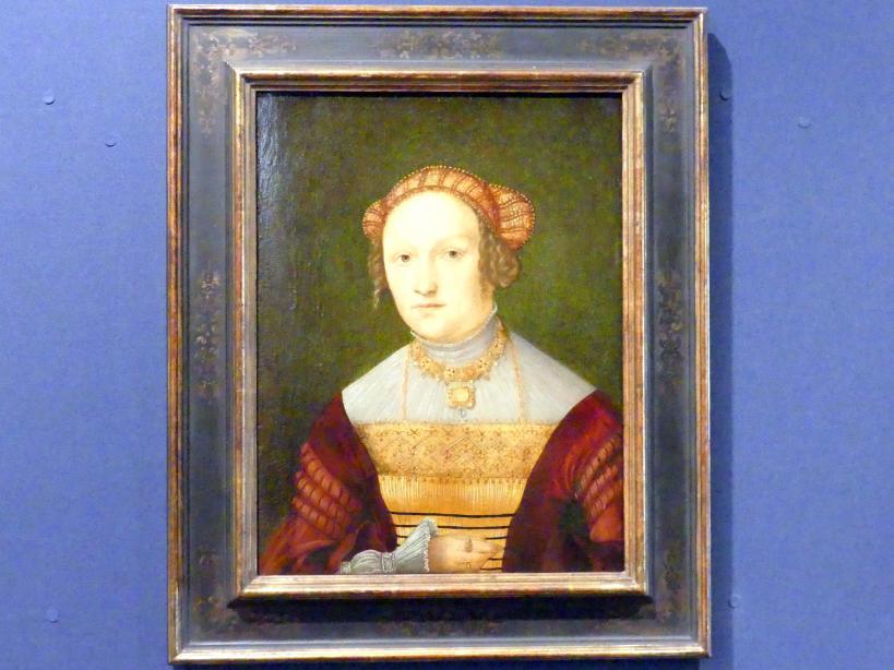 Hans Süß von Kulmbach: Bildnis der Susanna von Bayern, Gemahlin des Markgrafen Kasimir von Brandenburg-Kulmbach, 1518 - 1519