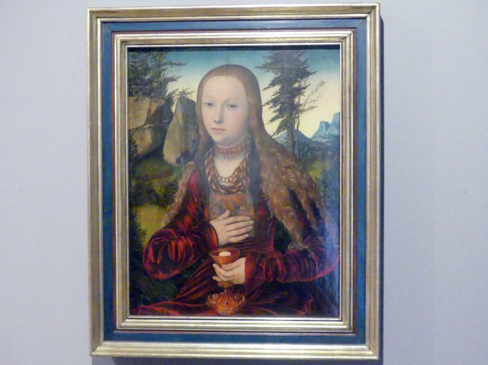 Lucas Cranach der Ältere: Die Heilige Barbara, um 1530