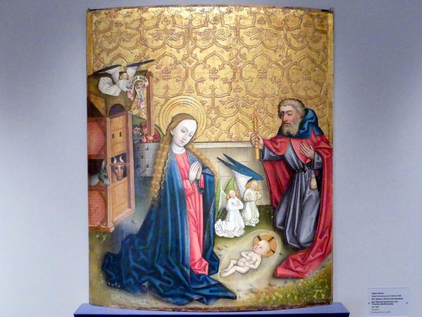 Peter Murer: Die Geburt Christi (Innenseite), Um 1465