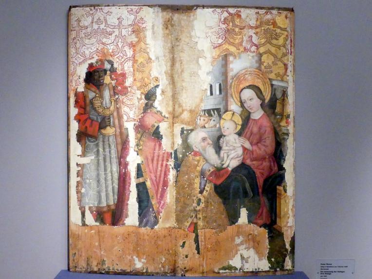 Peter Murer (Werkstatt): Die Anbetung der Heiligen Drei Könige, um 1465
