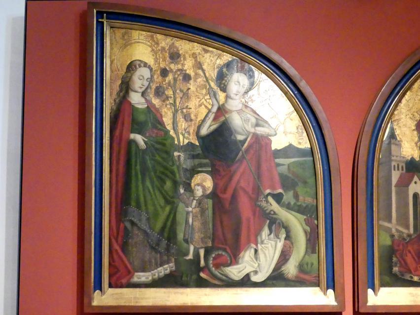 Die Heiligen Dorothea und Margareta, 1465