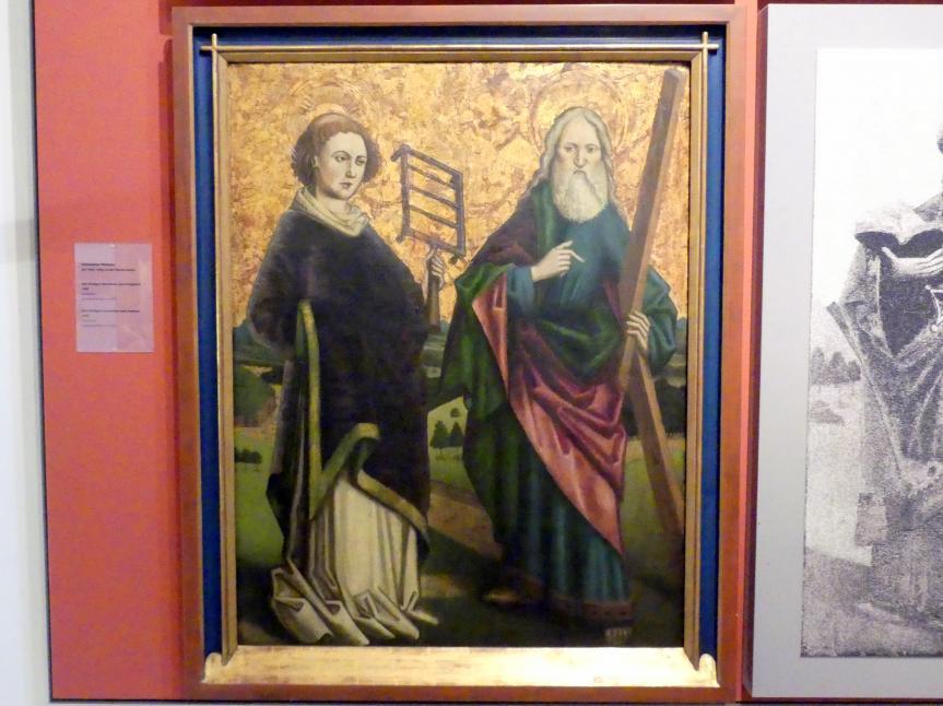 Die Heiligen Laurentius und Andreas, 1465