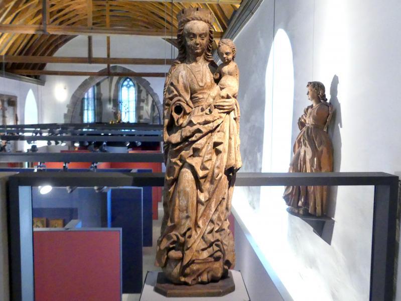 Meister von Osnabrück (Werkstatt): Maria mit Kind (sog. Winser Madonna), Ende 15. Jhd., Bild 1/5