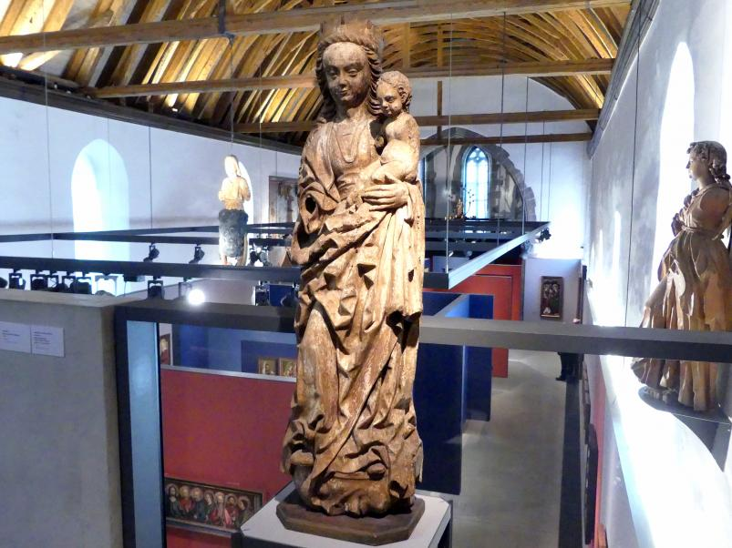 Meister von Osnabrück (Werkstatt): Maria mit Kind (sog. Winser Madonna), Ende 15. Jhd.