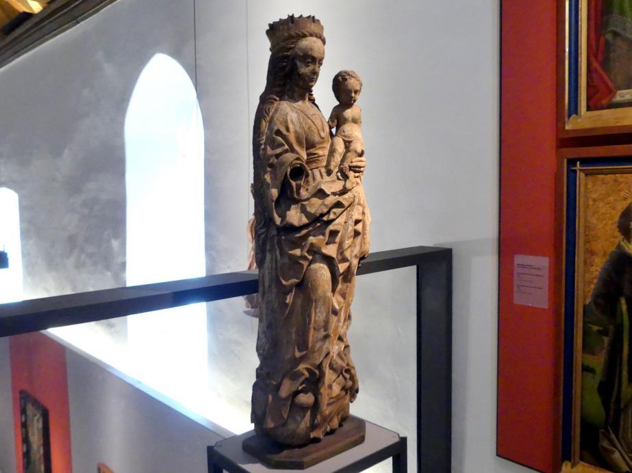 Meister von Osnabrück (Werkstatt): Maria mit Kind (sog. Winser Madonna), Ende 15. Jhd., Bild 3/5
