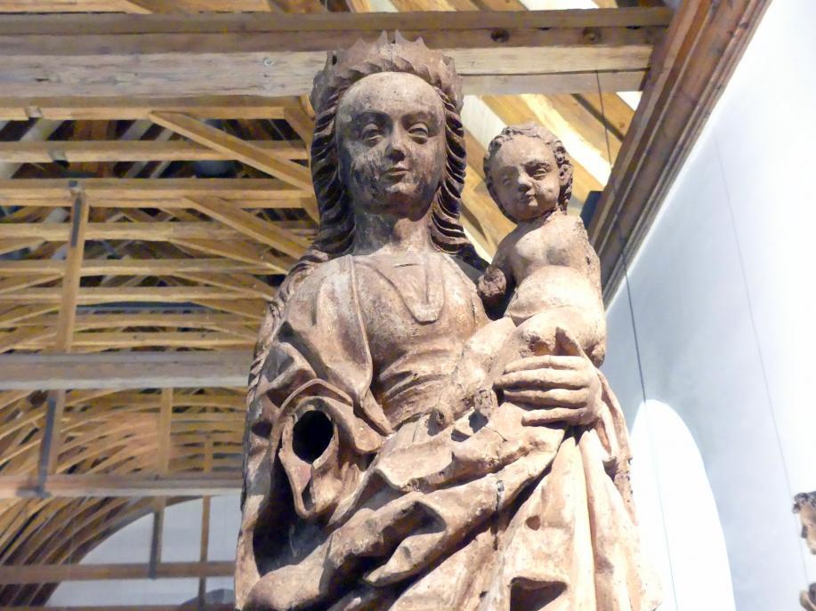 Meister von Osnabrück (Werkstatt): Maria mit Kind (sog. Winser Madonna), Ende 15. Jhd., Bild 4/5