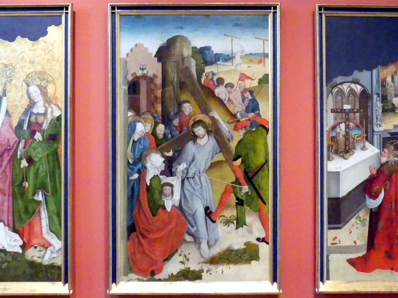Hans Strüb: Die Kreuztragung Christi, um 1512 - 1513