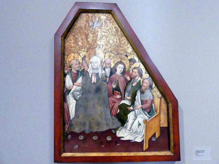 Das Pfingswunder, Um 1420