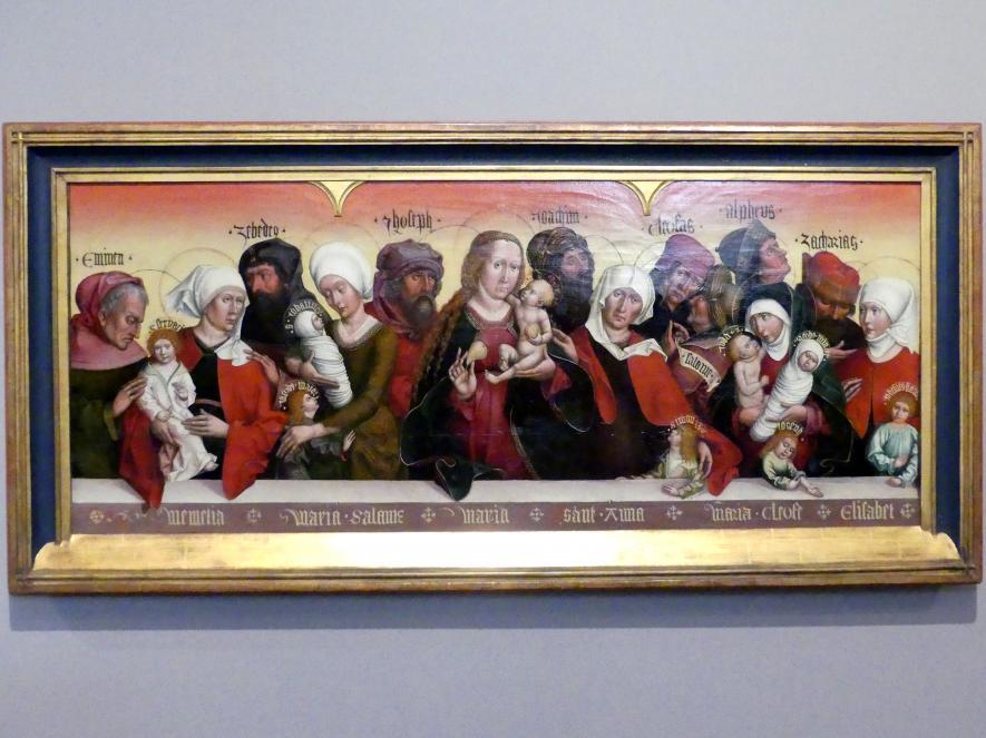 Jan Polack: Die Heilige Sippe, Um 1500